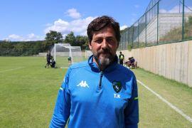 TFF'nin yeni ekibi Kocaelispor'un Bolu kampı devam ediyor