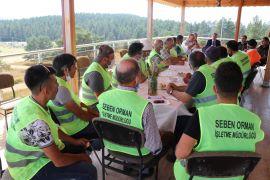 Bolu'da, yangınlara karşı 'Yangın Gönüllüsü' timleri oluşturuldu