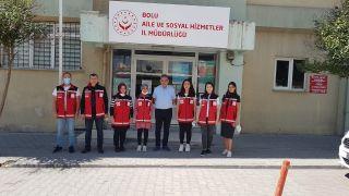 Bolu'dan Kastamonu'ya psikolojik destek