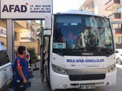 Bolu'dan sel bölgesi Bozkurt'a 24 AFAD gönüllüsü yola çıktı