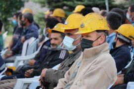 Madencilere tiyatrolu iş güvenliği eğitimi