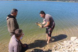 100 sporcu en büyük balığı yakalamak için mücadeleye başladı
