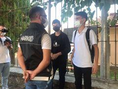 KOM ekipleri okul önlerinde önlemleri arttırdı